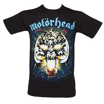 Mens Black Overkill Motorhead T Shirt