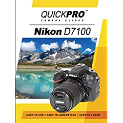 Nikon D7100 Instructional DVD by QuickPro Camera Guides