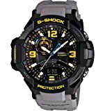Casio G-Shock GA-1000-8A Aviation Series Mens Luxury Watch - Grey / One Size