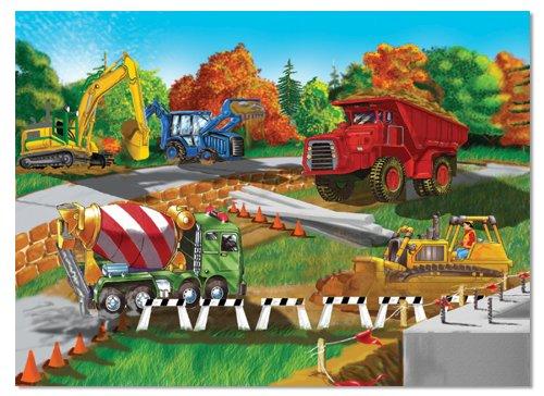 Cheap Fun Melissa Doug Construction Site Cardboard Jigsaw Puzzle (30 pcs) (B0007ODGHS)