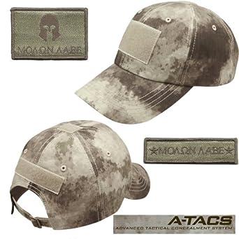 Operator Cap Bundle - 2 matching MOLON LABE patches & Hat (ATACS)