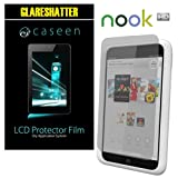 caseen 2x GLARESHATTER Anti-Glare and Anti-Fingerprint Screen Protector for Barnes & Noble NOOK HD 7-Inch Tablet