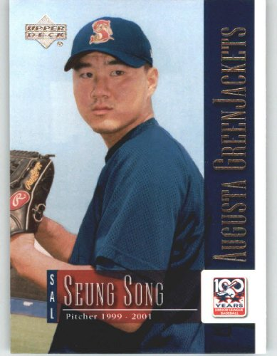 2001 Upper Deck Minors Centennial (UD Minor League) #34 Seung Song - Washington Senators (Baseball Cards)