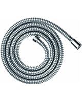 Hansgrohe - 28266000 - Metalflex - Flexible de douche - Chrome - DN 15 - 1,6 m (Import Allemagne)