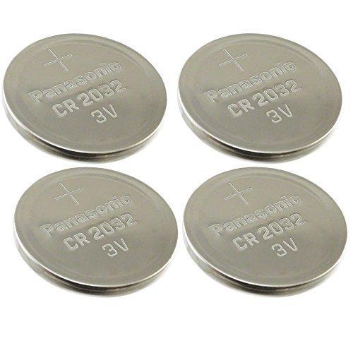 -4-pcs-panasonic-cr2032-3v-lithium-coin-cell-battery-dl2032-ecr2032