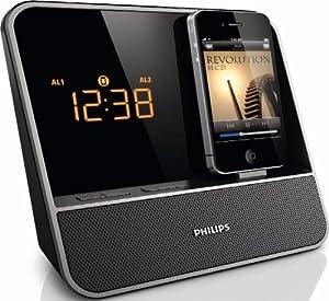 Philips AJ5350D/12 Radio-réveil avec Application HomeStudio pour iPod/iPhone 10 W RMS