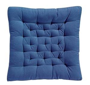 ... Confezione 2 cuscini per sedie, colore: Blu: Amazon.it: Casa e cucina