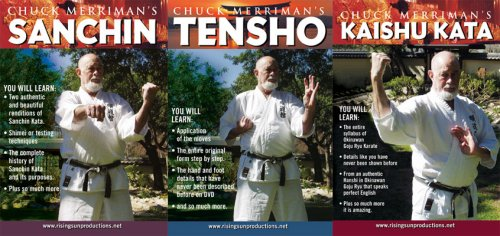 Chuck Merriman's Goju Ryu 3 DVD Box Set