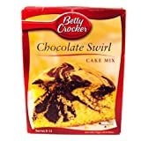 Betty Crocker Chocolate Swirl Cake Mix (500g)