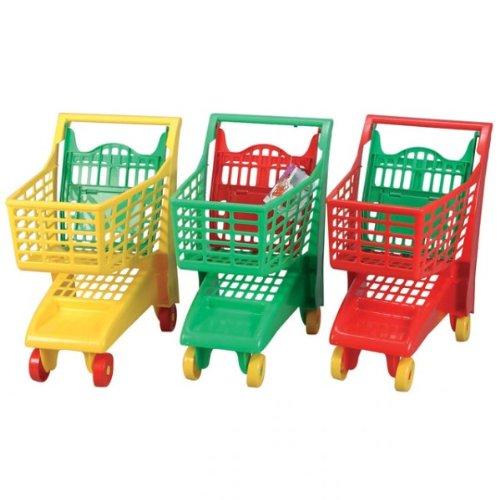 Kaufladen Zubehör Einkaufswagen mit Kindersitz