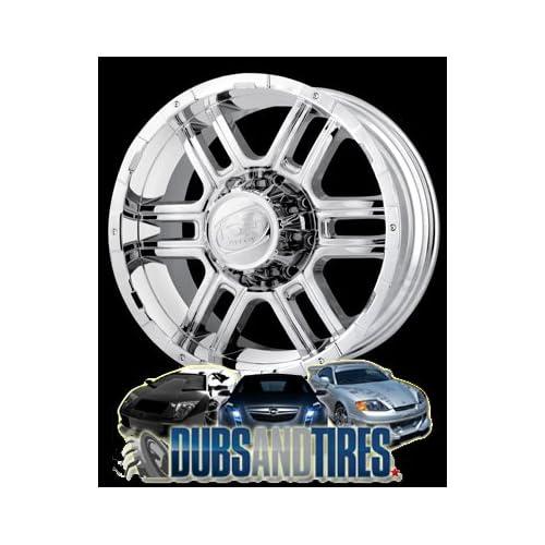 17 Inch 17x9 Ion Alloy wheels STYLE 179 Chrome wheels rims