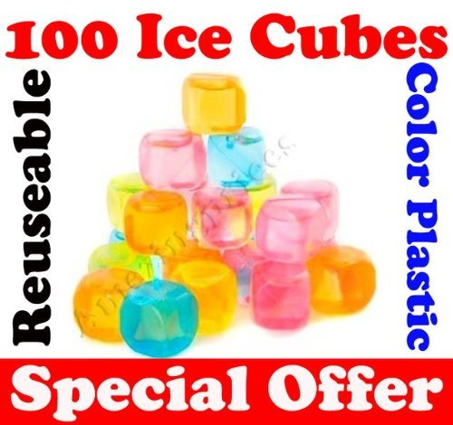 100-x-plastic-ice-cubes-reusable-coloured-party-drink-cooler-new-cubes-forever