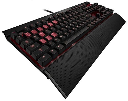 Corsair-Gaming-K70-Mechanical-Gaming-Keyboard-Backlit-Red-LED-Cherry-MX-Blue-CH-9000076-NA