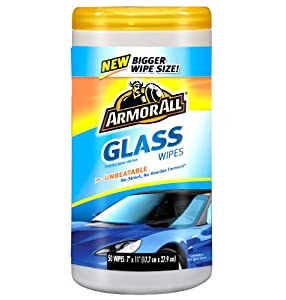 Armor All 78435 Glass Wipe - 50 Sheets from Armor All