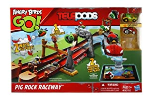 Angry Birds - Pig Rock Raceway, juego de construcción (Hasbro A6030105)
