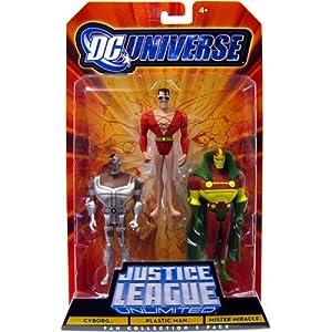 Amazon.com: DC Universe Justice League Unlimited Plastic Man, Cyborg ... Justice League Unlimited Cyborg