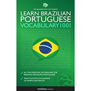 Learn Brazilian Portuguese - Word Power 1001 Audiobook