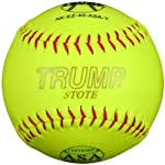 Trump® AK-EZ-40-ASA-Y AK-EZ Series 12 Inch Synthetic Leather .40 Core ASA Softball (Sold in Dozens)
