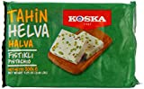 Koska Halva Pistachio 200 g (Pack of 4)