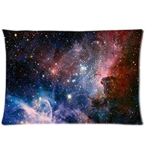 "ZP Shine Universe Two Sides Rectangle Zippered Pillowcase Pillow Cover 20""*30"" by Zp Shine"