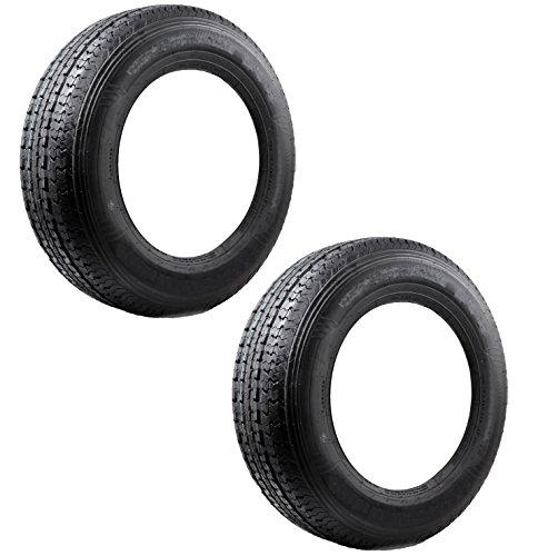 2-Pack Trailer Tires Bias Ply #398 ST175/80D13 ST 175/80 D 13