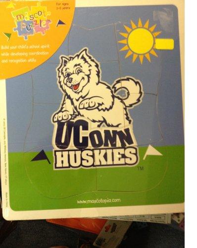 Mascot Puzzle Uconn Huskies