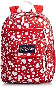 JanSport Big Student Backpack High Risk Red Heart