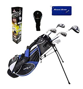 Paragon Rising Star Kids Golf Clubs Set Ages 11-13 Blue With Free Golf Gift by Paragon Golf