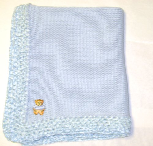 Hand Knitted Baby Blanket back-337819