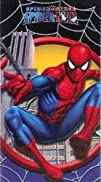 Boys Spiderman Beach Towel