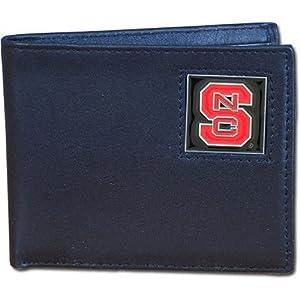 Siskiyou Sports North Carolina St. Wolfpack Leather Bi-fold Wallet