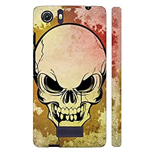 Micromax Canvas Unite 3 SKULLY SCARE designer mobile hard shell case by Enthopia