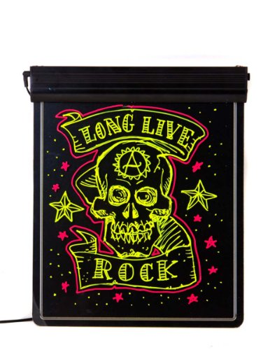 """Led Illuminated Fluorescent Neon Sign 24""""X19"""" For Shop Adverting Especially At Night"""