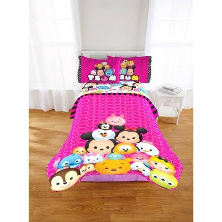 Adorable Disney Tsum Tsum Twin/Full Comforter