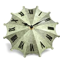 Umbrella Desk Clock - Green by Princess International