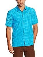 SALEWA Camisa Hombre Triumph Dry M (Azul Royal)