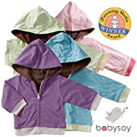 Baby Soy All-Natural Year-Round Reversible Hoodie from Baby Soy