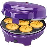 Clatronic DMC 3533 - Máquina de hacer magdalenas, donuts y cake pops, 700 W, color morado