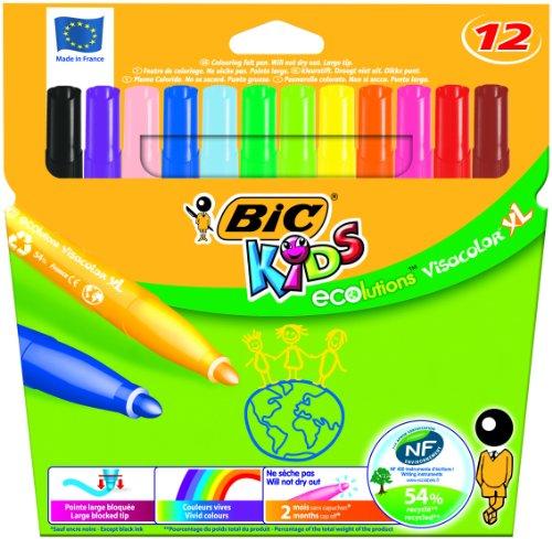 bic-kids-ecolutions-visa-color-xl-felt-pens-assorted-pack-of-12-bic-12-rotuladores-visacolor-xl
