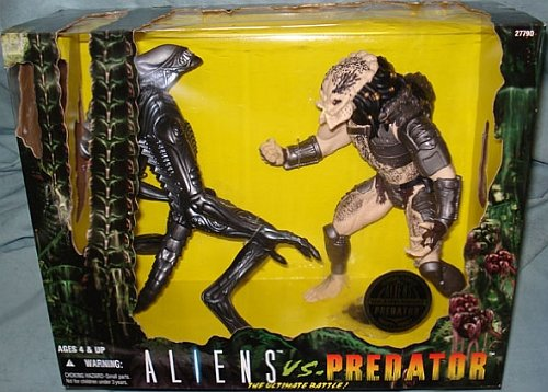Picture of Kenner Aliens vs. Predator The Ultimate Battle Action Figure Set (B001KPQ9TK) (Kenner Action Figures)