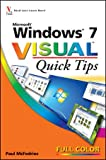 Windows 7 Visual Quick Tips (0470521171) by McFedries, Paul