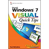 Windows 7 Visual Quick Tips ~ Paul McFedries