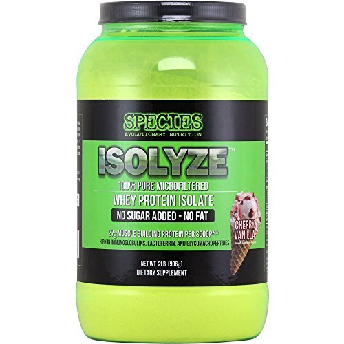 Species Nutrition Isolyze, Cherry Vanilla, 2-pound Tub Review