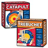 Contraptions Catapult And Trebuchet: Set Of 2