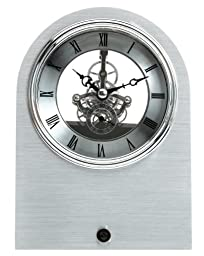 Maple\'s Skeleton Aluminum Table Clock