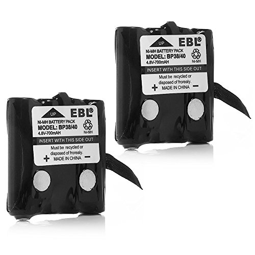 Cheapest Price! EBL® Two-Way Radio Batteries Replacement Battery for Uniden BP-38 BP-39 BT-1013 BT-...