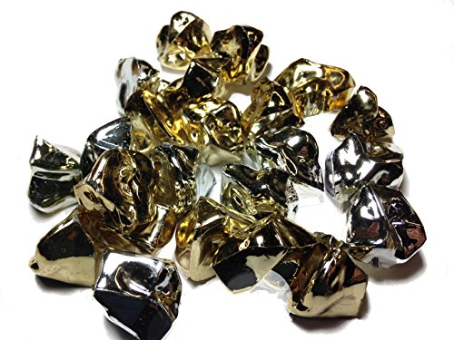 Dashington® Gold and Silver Bulk Pirate Jewels and Gems, 1 Pound Bag, Approximately 160 Pieces