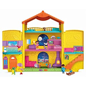 Fisher-Price  Dora Window Surprises Dollhouse