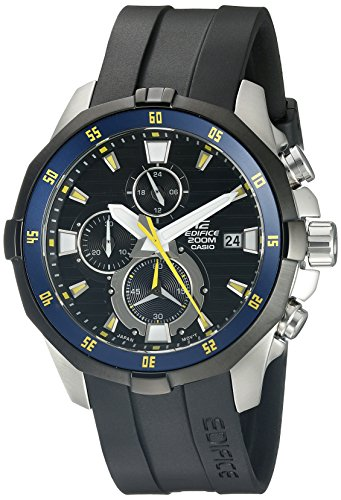 Casio Men's EFM-502-1AVCF Edifice Analog Display Quartz Black Watch