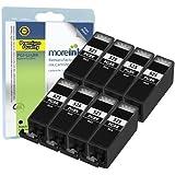 8 Cartouches d'encre Compatibles pour Imprimante Canon Pixma MG5350 - Grande Noir- Avec Puce